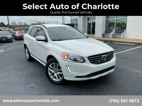 2017 Volvo XC60 for sale at Select Auto of Charlotte in Matthews NC