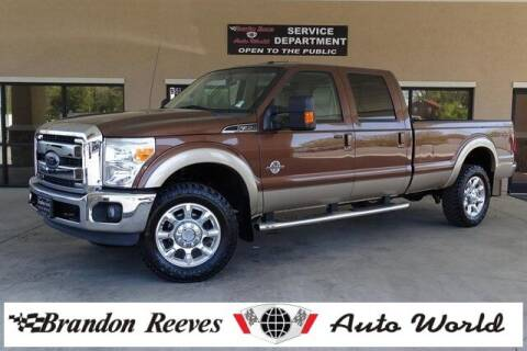 2012 Ford F-350 Super Duty for sale at Brandon Reeves Auto World in Monroe NC