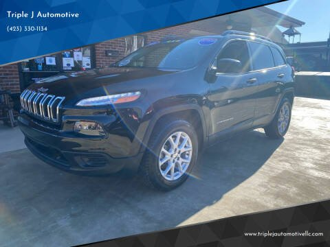 2016 Jeep Cherokee for sale at Triple J Automotive in Erwin TN
