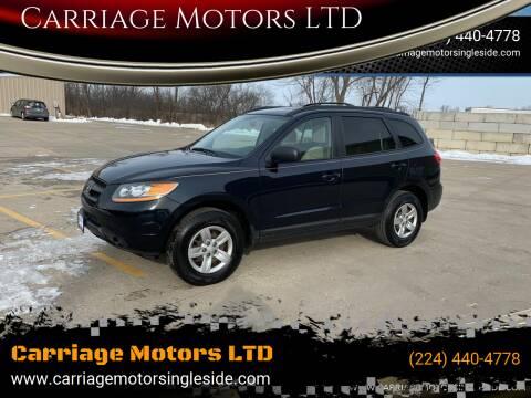 2009 Hyundai Santa Fe for sale at Carriage Motors LTD in Ingleside IL
