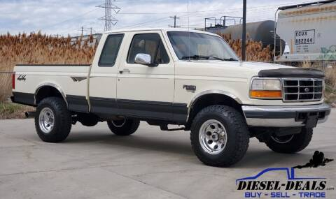 1996 Ford F-250 for sale at DIESEL DEALS in Salt Lake City UT