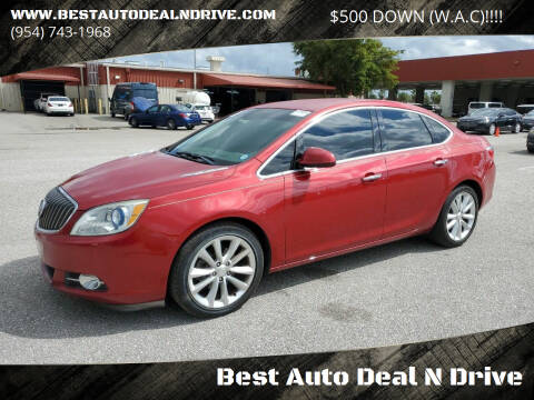 2013 Buick Verano for sale at Best Auto Deal N Drive in Hollywood FL