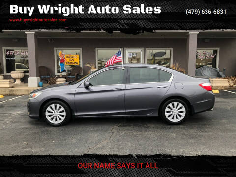 2015 Honda Accord for sale at Buy Wright Auto Sales in Rogers AR