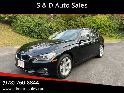2014 BMW 3 Series for sale at S & D Auto Sales in Maynard MA