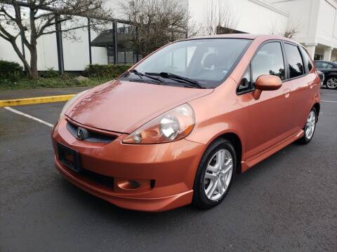 2007 Honda Fit for sale at Painlessautos.com in Bellevue WA