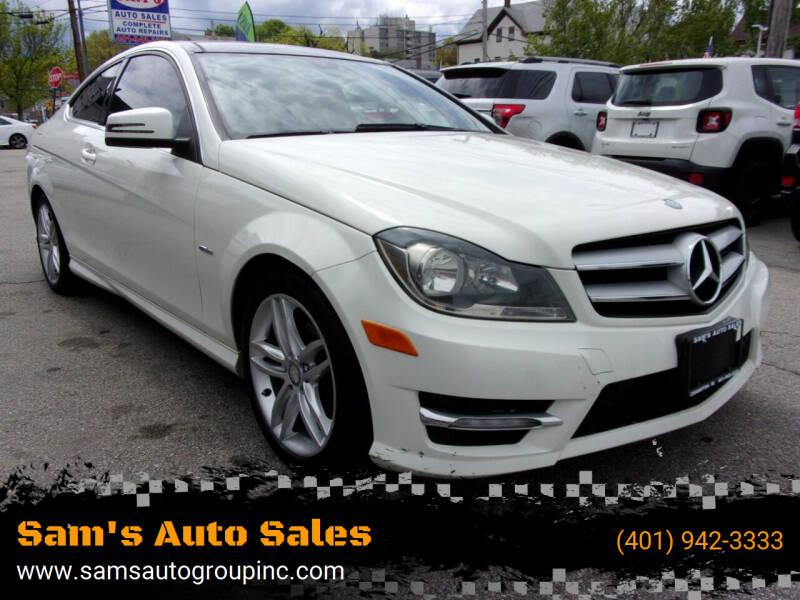 2012 Mercedes-Benz C-Class for sale at Sam's Auto Sales in Cranston RI