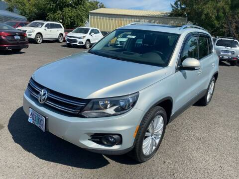 2014 Volkswagen Tiguan for sale at JZ Auto Sales in Happy Valley OR