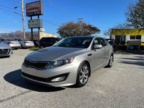 2012 Kia Optima for sale at Autohaus of Greensboro in Greensboro NC