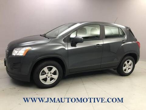 2016 Chevrolet Trax for sale at J & M Automotive in Naugatuck CT
