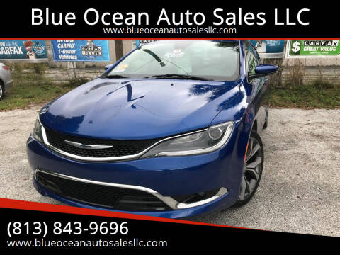 2015 Chrysler 200 for sale at Blue Ocean Auto Sales LLC in Tampa FL