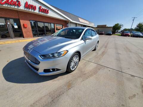 2015 Ford Fusion for sale at Eden's Auto Sales in Valley Center KS