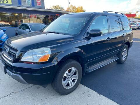 2003 Honda Pilot for sale at Wise Investments Auto Sales in Sellersburg IN