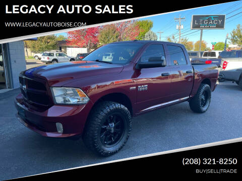 2016 RAM Ram Pickup 1500 for sale at LEGACY AUTO SALES in Boise ID