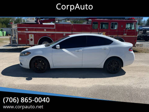 2013 Dodge Dart for sale at CorpAuto in Cleveland GA