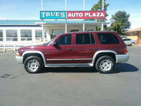 2002 Dodge Durango for sale at True's Auto Plaza in Union Gap WA