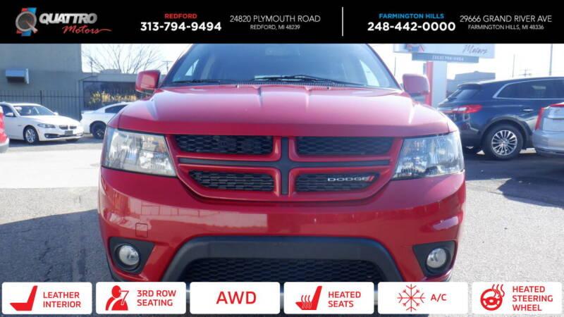 2015 Dodge Journey for sale at Quattro Motors 2 in Farmington Hills MI
