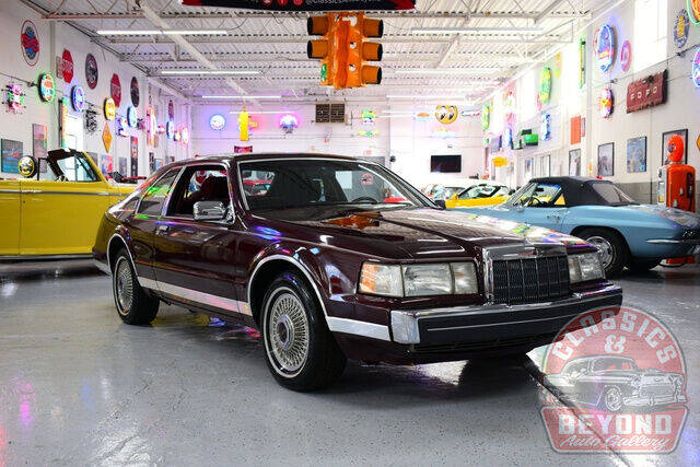 1989 Lincoln Mark VII for sale at Classics and Beyond Auto Gallery in Wayne MI