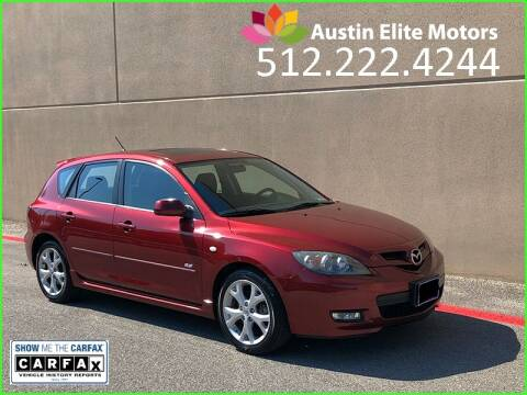 2008 Mazda MAZDA3 for sale at Austin Elite Motors in Austin TX