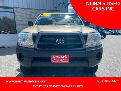 2005 Toyota Tacoma for sale at NORM'S USED CARS INC in Wiscasset ME