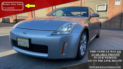 2003 Nissan 350Z for sale at Rocky's Auto Sales in Worcester MA