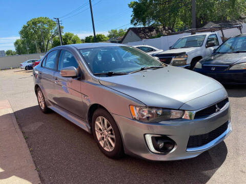 2016 Mitsubishi Lancer for sale at Nice Cars Auto Inc in Minneapolis MN