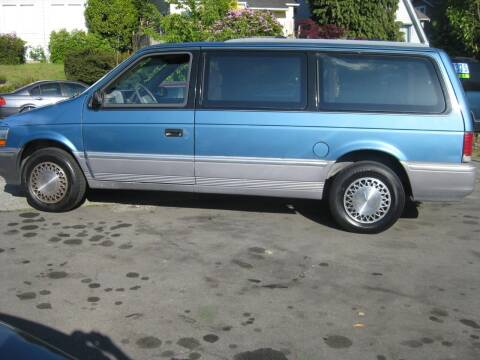 1993 Plymouth Grand Voyager for sale at UNIVERSITY MOTORSPORTS in Seattle WA