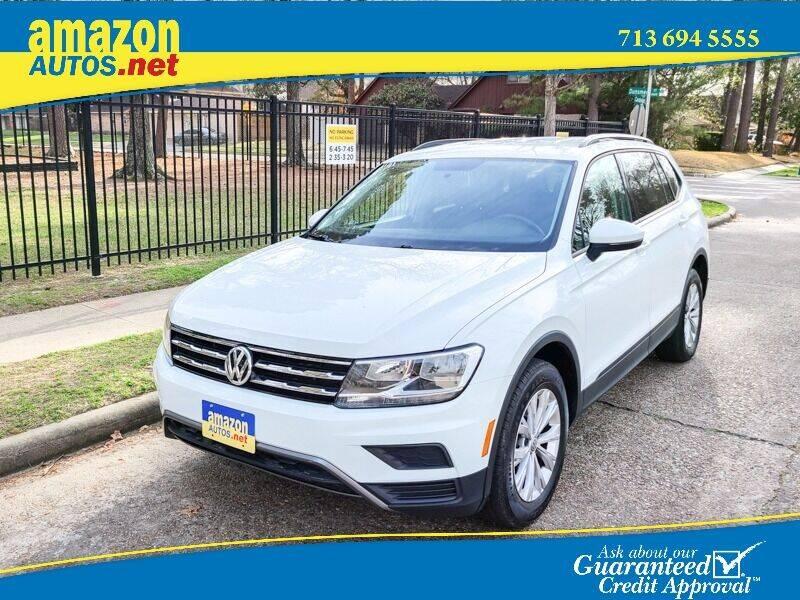 2018 Volkswagen Tiguan for sale at Amazon Autos in Houston TX