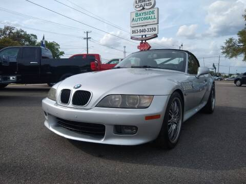 2000 BMW Z3 for sale at BAYSIDE AUTOMALL in Lakeland FL