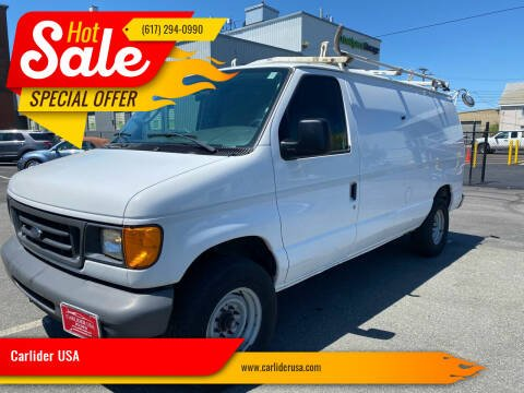 2007 Ford E-Series Cargo for sale at Carlider USA in Everett MA