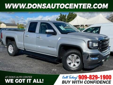 2016 GMC Sierra 1500 for sale at Dons Auto Center in Fontana CA