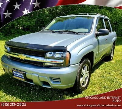 2006 Chevrolet TrailBlazer for sale at Chicagoland Internet Auto - 410 N Vine St New Lenox IL, 60451 in New Lenox IL