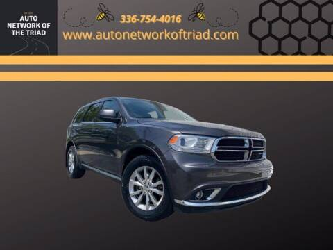 2017 Dodge Durango for sale at Auto Network of the Triad in Walkertown NC