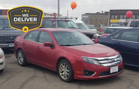 2012 Ford Fusion for sale at Tower Motors in Brainerd MN
