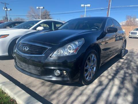 2012 Infiniti G37 Sedan for sale at Berge Auto in Orem UT