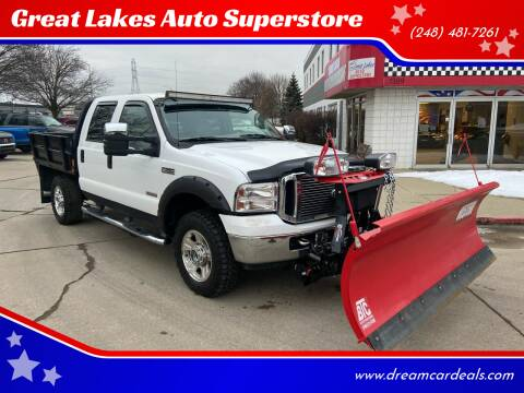 2006 Ford F-350 Super Duty for sale at Great Lakes Auto Superstore in Waterford Township MI