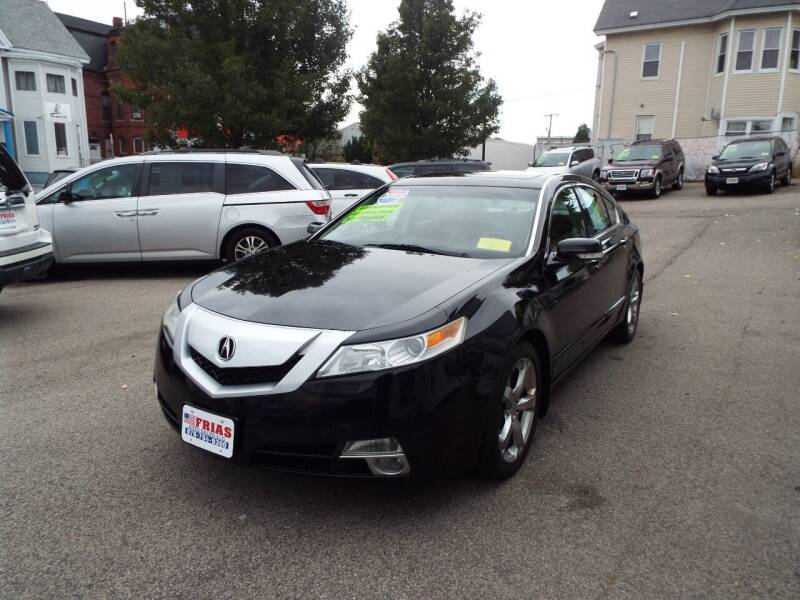 2010 Acura TL for sale at FRIAS AUTO SALES LLC in Lawrence MA