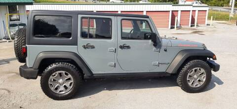 2015 Jeep Wrangler Unlimited for sale at Green Tree Motors in Elizabethton TN