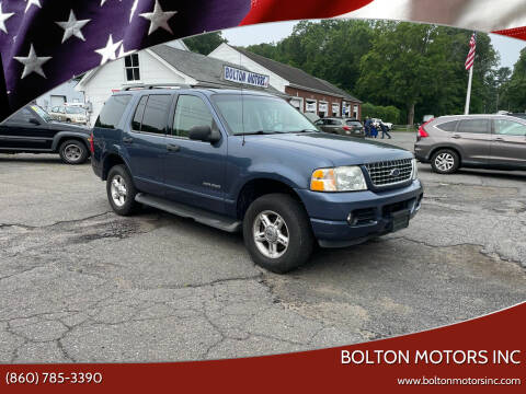 2004 Ford Explorer for sale at BOLTON MOTORS INC in Bolton CT