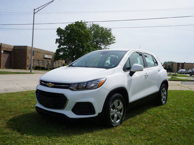 2018 Chevrolet Trax for sale at DYNAMIC AUTO SPORTS in Addison IL