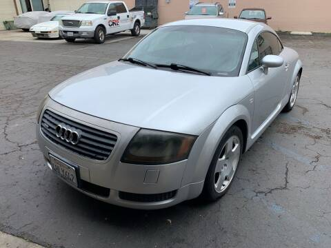 2000 Audi TT for sale at ALLMAN AUTO SALES in San Diego CA