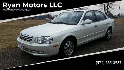 2002 Kia Optima for sale at Ryan Motors LLC in Warsaw IN