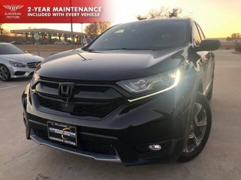 2018 Honda CR-V for sale at European Motors Inc in Plano TX