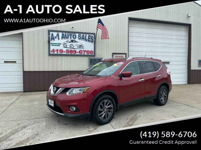 2016 Nissan Rogue for sale at A-1 AUTO SALES in Mansfield OH