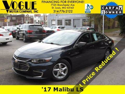2017 Chevrolet Malibu for sale at Vogue Motor Company Inc in Saint Louis MO