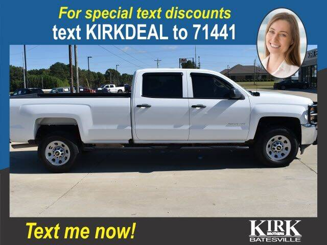 2018 Chevrolet Silverado 2500HD for sale at Kirk Brothers Batesville in Batesville MS