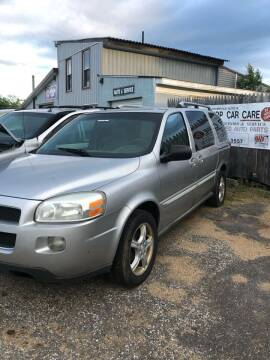 2006 Chevrolet Uplander for sale at Classic Heaven Used Cars & Service in Brimfield MA