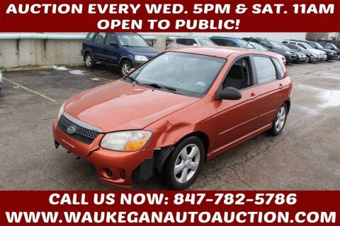 2007 Kia Spectra for sale at Waukegan Auto Auction in Waukegan IL