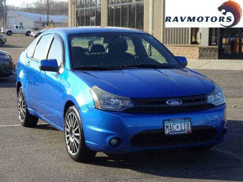 2010 Ford Focus for sale at RAVMOTORS 2 in Crystal MN