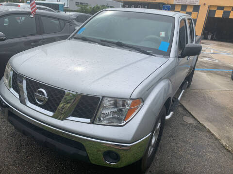 2008 Nissan Frontier for sale at Dulux Auto Sales Inc & Car Rental in Hollywood FL