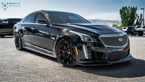 2017 Cadillac CTS-V for sale at MUSCLE MOTORS AUTO SALES INC in Reno NV